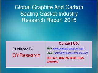 Global Graphite And Carbon Sealing Gasket Market 2015 Industry Growth, Trends, Analysis, Share and Research