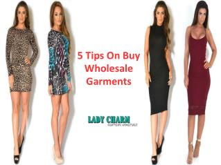 5 Tips On Buy Wholesale Garments