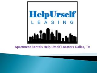 Apartment Rentals in Dallas