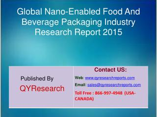 Global Nano-Enabled Food And Beverage Packaging Industry 2015 Development, Forecasts,Research, Analysis,Growth, Insights