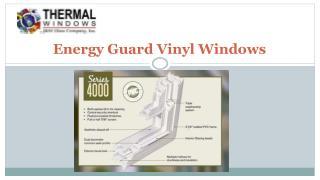 Energy Guard Vinyl Windows