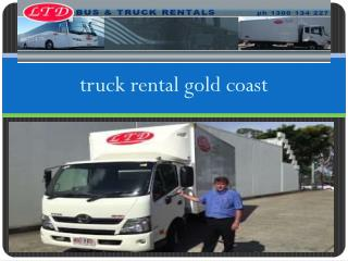 van hire gold coast