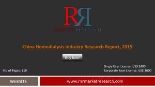 China Hemodialysis Industry Development Analysis Report 2015