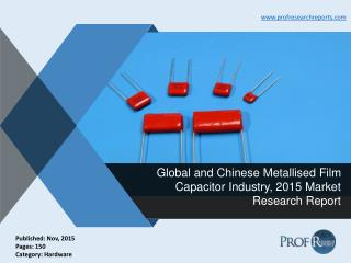 Metallised Film Capacitors Industry Supply, Market Demand 2015