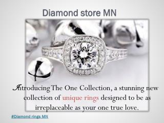 #Engagement ring store MN