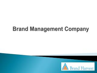 Brand Management Company