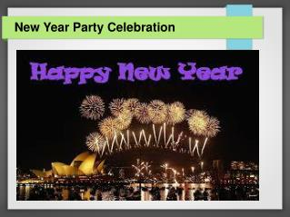 best places to celebrate New Year