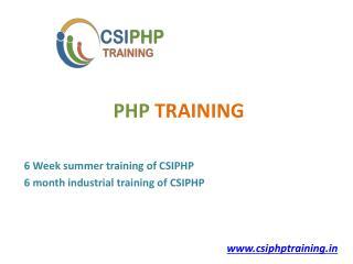 PHP Training Chandigarh