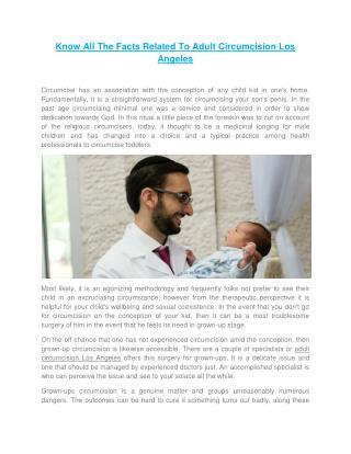 Benefits Of Baby Circumcision - www.mohellosangeles.com