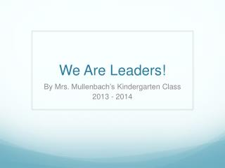 KBM Leaders