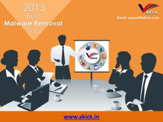 Free Spyware Removal Tool - Akick