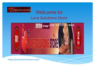 Love Solutions Store