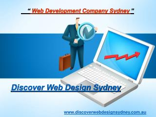 Excellent Web Development Services Offer By Discover Web Design Sydney.