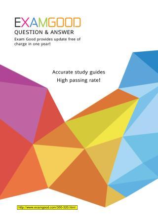 Cisco CCDP 300-320 exam questions
