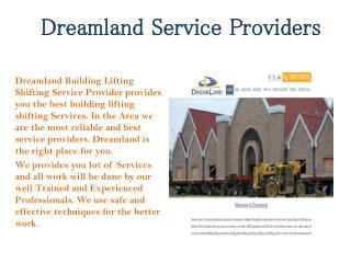 Dreamland Service Providers