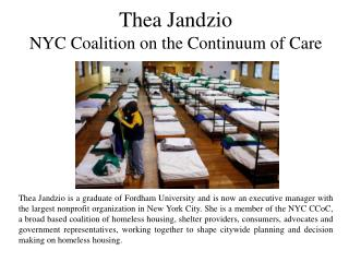 Thea Jandzio NYC Coalition on the Continuum of Care