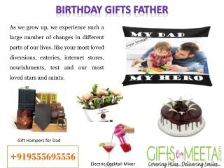 Best Birthday Gifts for Father at GiftsbyMeeta