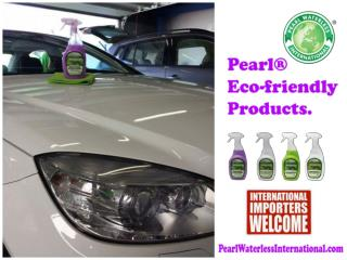 Pearl® Waterless Eco-friendly products.