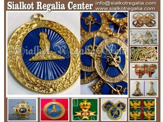 Craft regalia provincial collar jewel