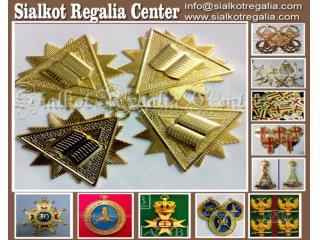 Masonic Craft collar jewels