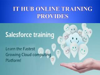 SALESFORCE ONLINE TRAINING and TUTORIALS IN INDIA USA UK CANADA
