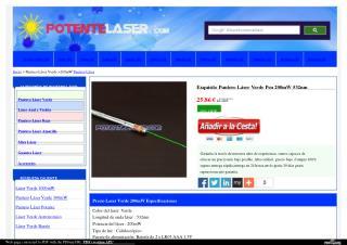 Laser verde 200mW 532nm