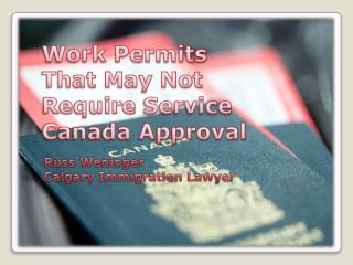 Calgary Immigration Lawyer | Aid in Acquiring Work Permit