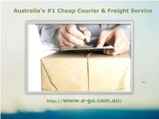 Avail the Best Courier Service in Australia