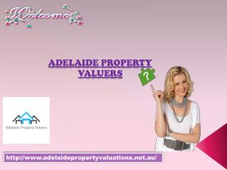 Adelaide Property Valuers for property valuation