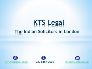 KTS Legal - The Indian Solicitors in London