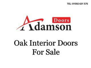 Oak Interior Doors For Sale