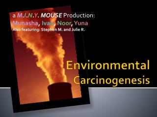 Environmental  Carcinogenesis