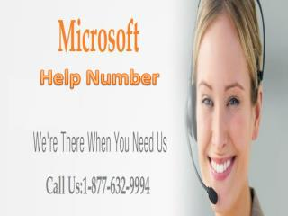 Microsoft Help Number || 1-877-632-9994 || Microsoft Helpline 24*7 Available