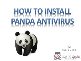 How to Install Panda Antivirus