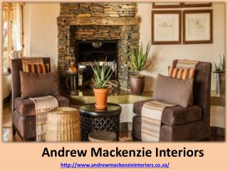 Andrew Mackenzie - Interior Home Designer