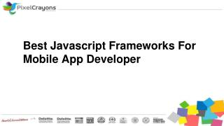 Best Javascript Frameworks For Mobile App Developer
