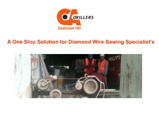 What Is Diamond Wire Sawing?