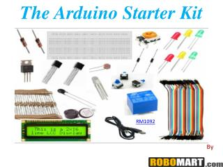 The Arduino Starter Kit By Robomart India