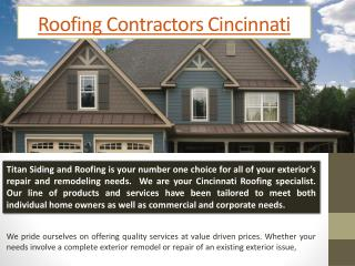 Cincinnati Roofers