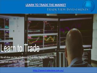 Learn trading from expert traders - Tradeview