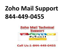 Zoho Mail Support