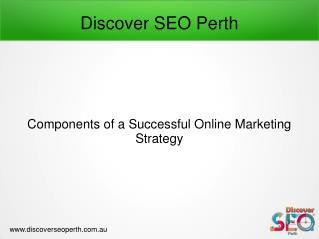 Successful Online Marketing Service offer by Discover SEO Perth