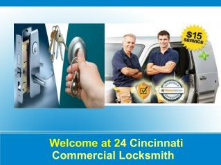 Commercial lock change in cincinnati