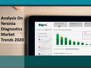 Yersinia diagnostics Market Opportunities