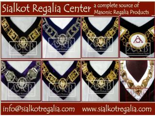 Masonic chain collar