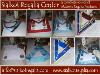 Blue lodge officer apron