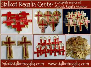 Knight Templar cape badge