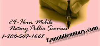 Ezmobilenotary Woodland Hills - 24 Hours 1-800-547-1668