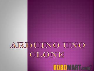 Arduino UNO Clone by Robomart