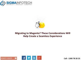 Migrating to Magento? These Considerations Will Help Create a Seamless Experience